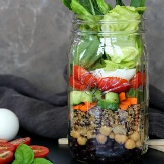 Protein Power Mason Jar Salad