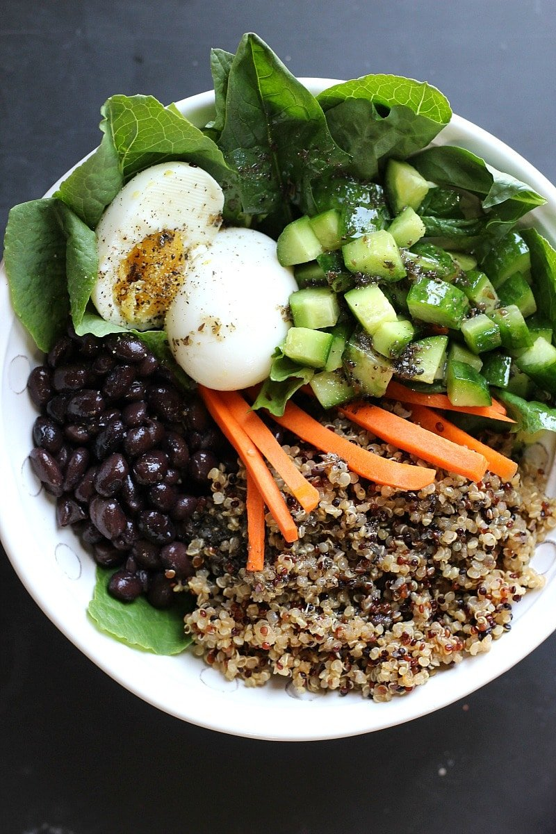 Protein Power Mason Jar Salad