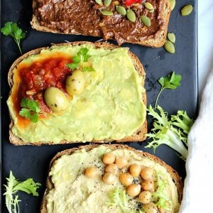 Avocado Toast 3-Ways