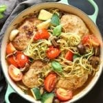 Healthy Low-Carb Chicken Zoodle Skillet | Garden in the Kitchen