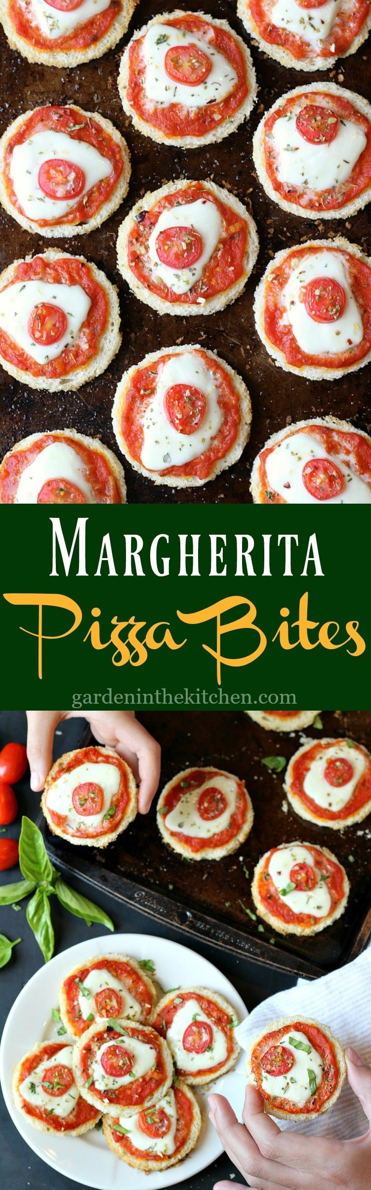 Easy Margherita Pizza Bites