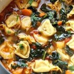 Best Veggie Tortellini Soup
