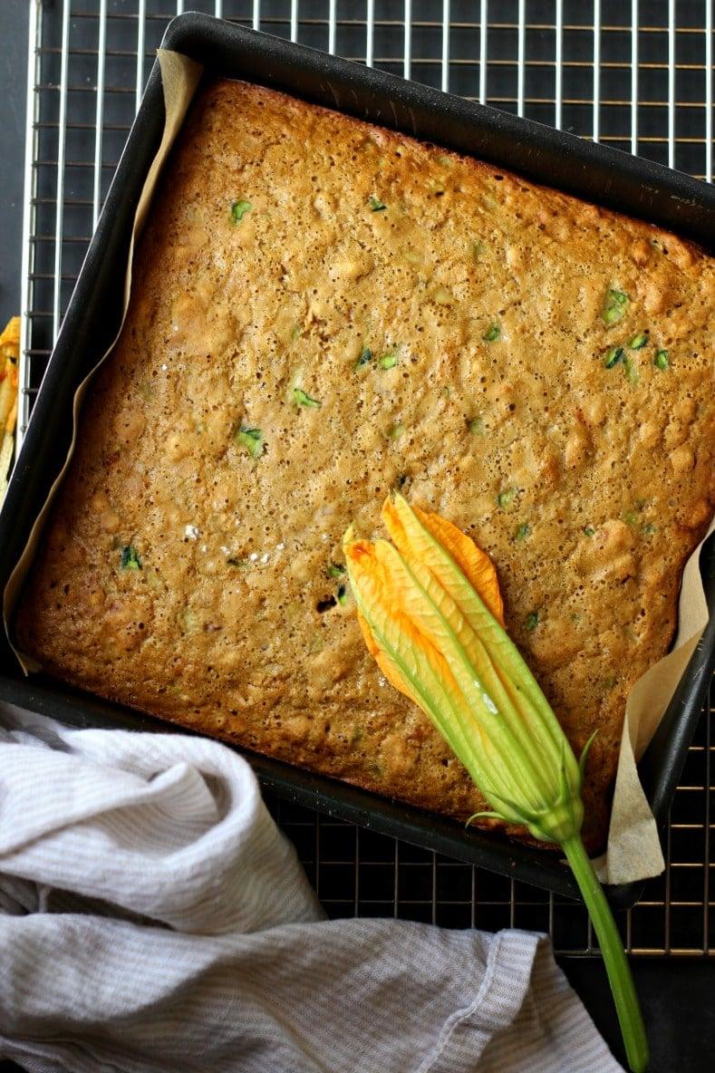 Zucchini Almond Cake (Gluten-Free)   Garden in the Kitchen