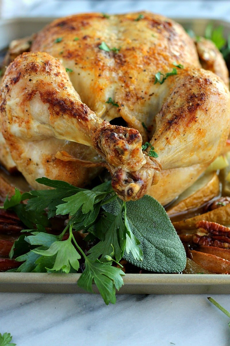 How to Cook the PERFECT Roast Chicken Every Time! Garden in the Kitchen