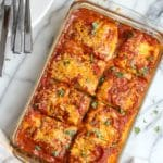 Low Carb Vegetarian Zucchini Lasagna