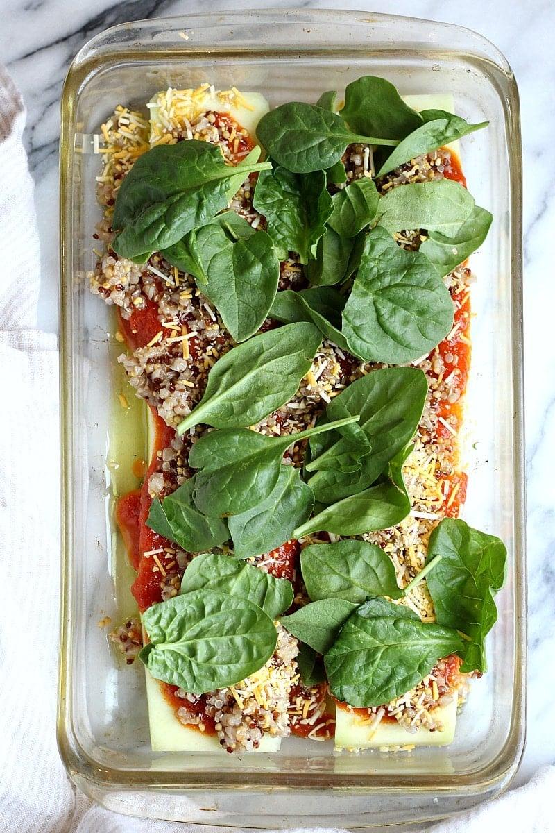 Low-Carb Dairy-Free Vegetarian Zucchini Lasagna | Garden in the Kitchen