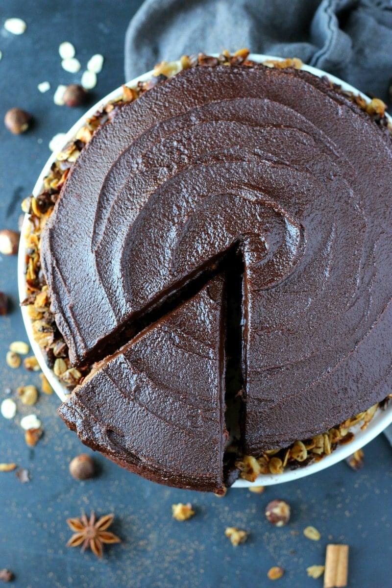 Chocolate Espresso Hazelnut Cake | Garden in the Kitchen