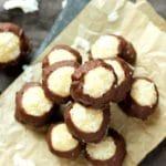 Coconut Protein Buckeyes