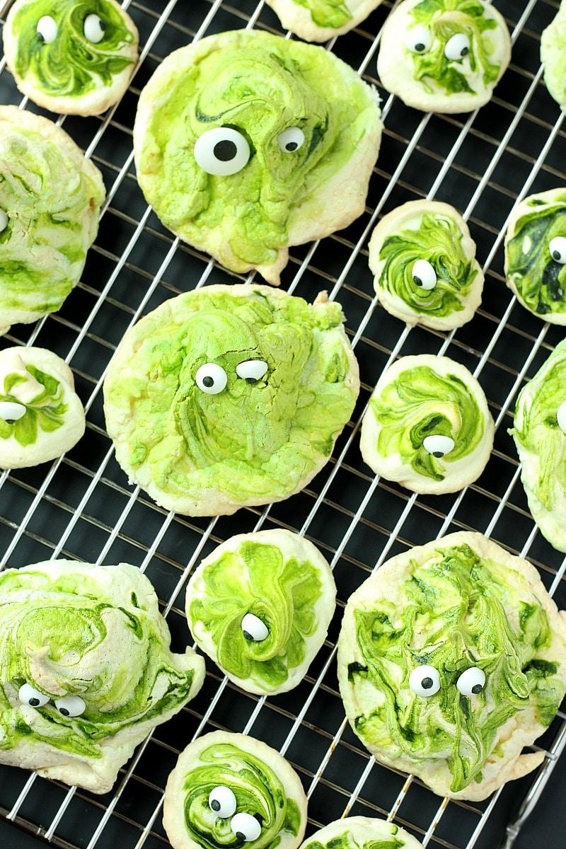 Green Gobblers Meringue | Garden in the Kitchen