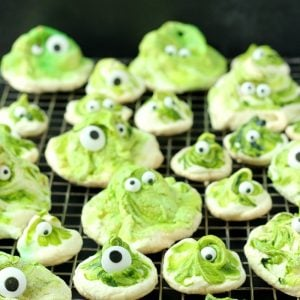 Green Gobblers Meringue | Garden in the Kitchen