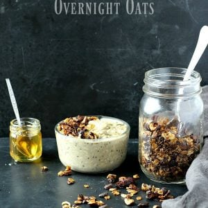 Maple Chia Overnight Oats