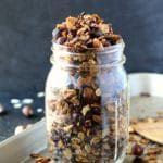 Toasted Chocolate Hazelnut Granola