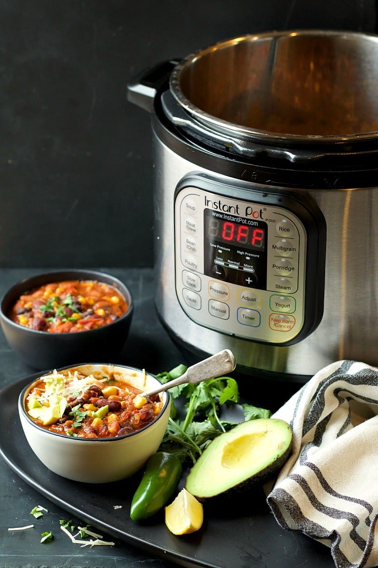 Instant Pot Supersonic (MEGA FAST!) Veggie Chili | Garden in the Kitchen