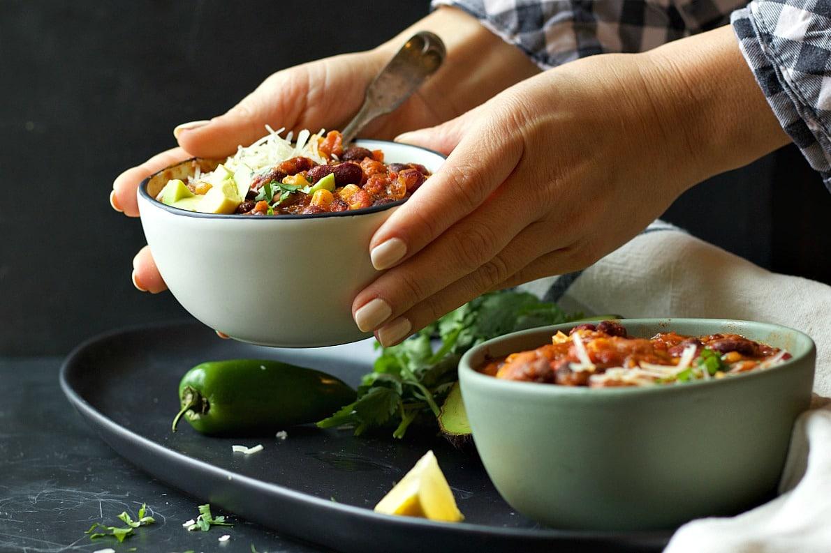 Instant Pot Supersonic Chili (MEGA FAST!)   Garden in the Kitchen