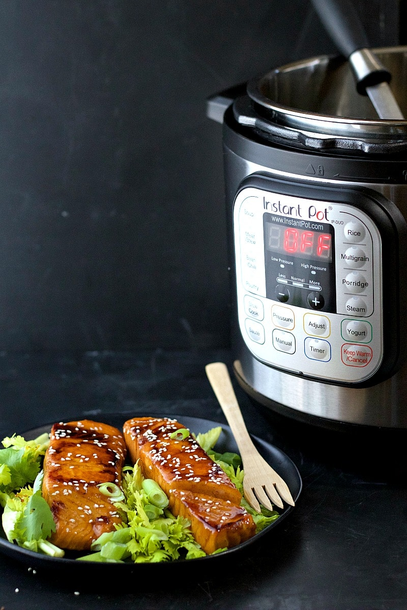 Instant Pot Soy-Free Asian Salmon | Garden in the Kitchen