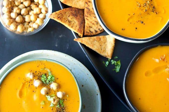 Instant Pot Leftover Vegetable Soup | Garden in the Kitchen