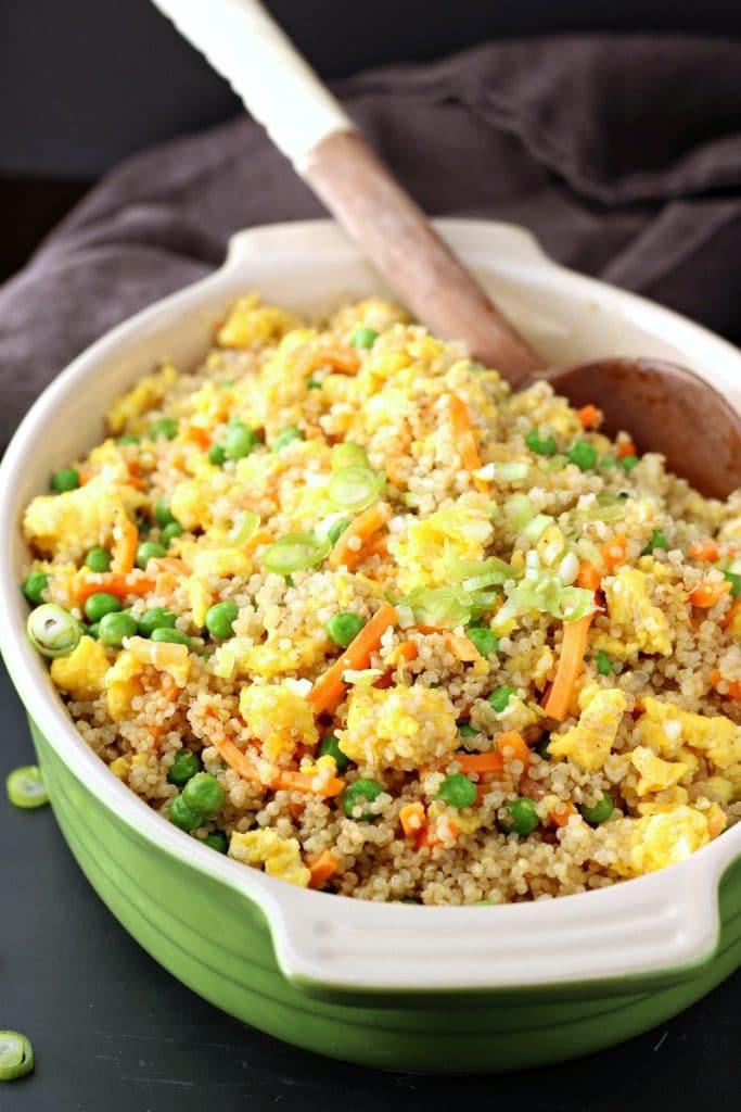 Instant Pot Quinoa Fried Rice