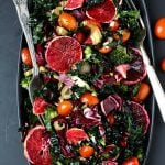 Winter Retreat Blood Orange Kale Salad