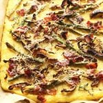 Polenta Crust Roasted Veggie Pizza