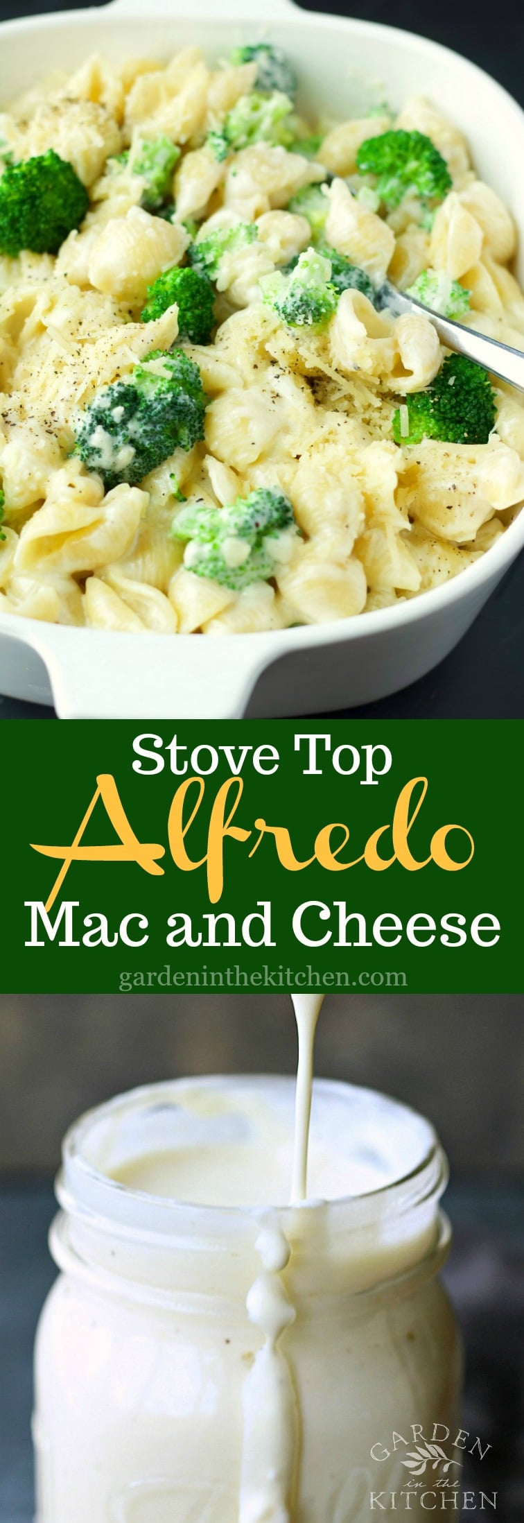 Stove Top Creamy Alfredo Mac And Cheese