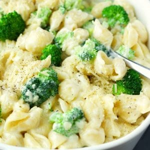 Stove Top Alfredo Mac and Cheese