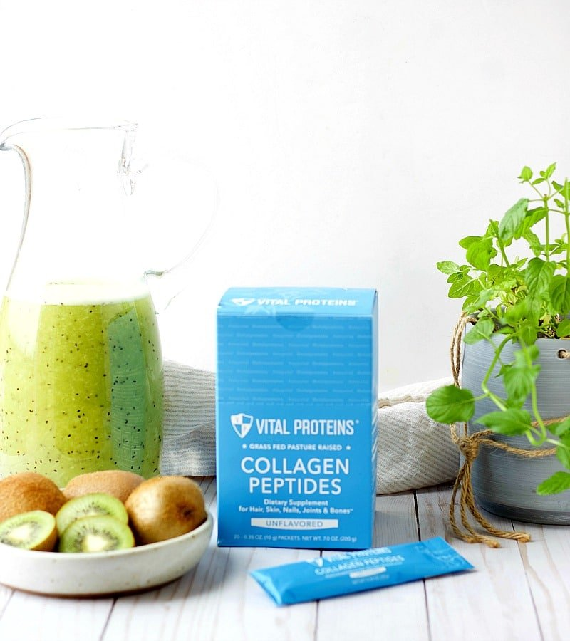 Kiwi Collagen Agua Fresca