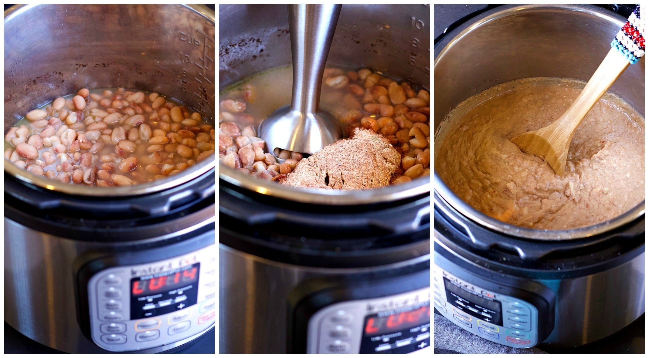 Homemade Mexican Refried Beans