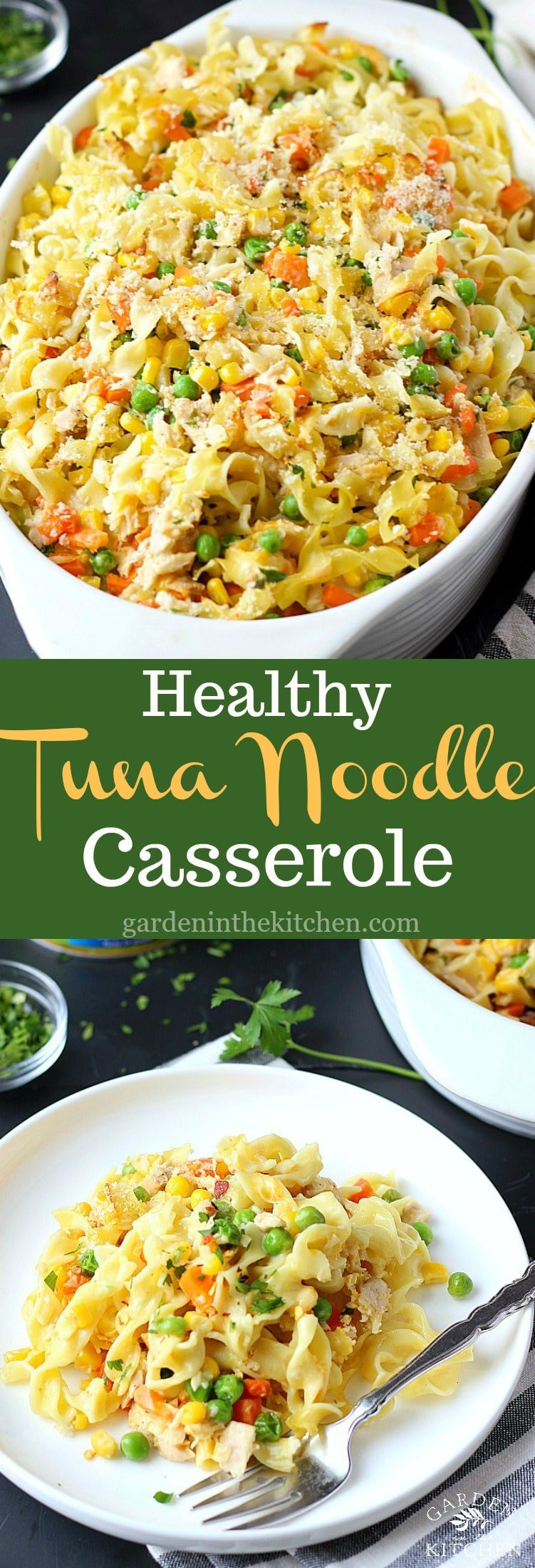Vegetable Tuna Casserole