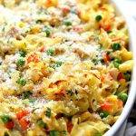 Easy Homemade Tuna Noodle Casserole