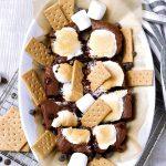 Brownie S'mores Dip