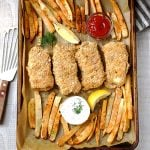 Healthy Baked Fish and Chips