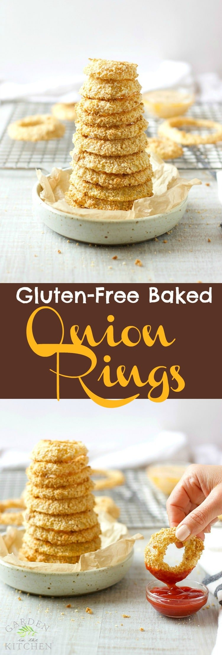 Gluten-Free Baked Onion Rings