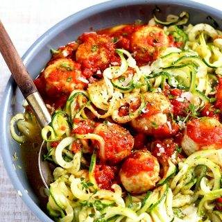 Chicken Meatballs Noodles