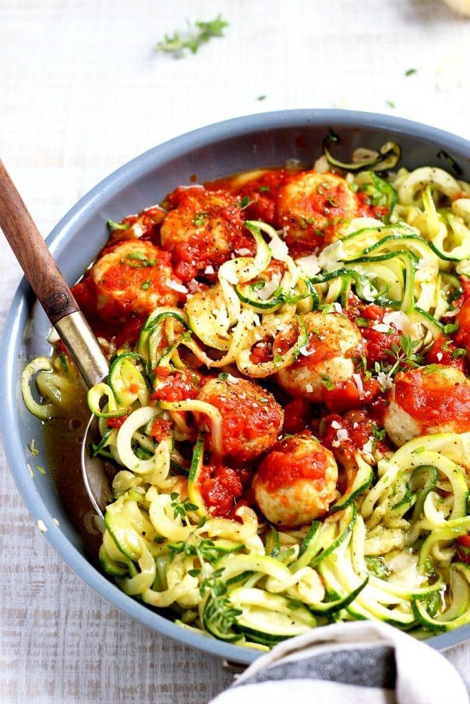 Chicken Meatballs Noodles