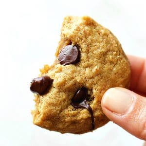 Chocolate Chip Peanut Butter Protein Cookies