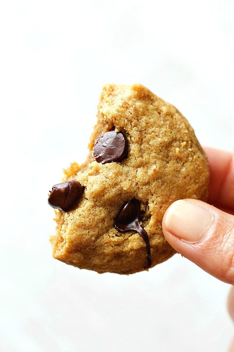 HEALTHY Gluten-Free Peanut Butter Cookies