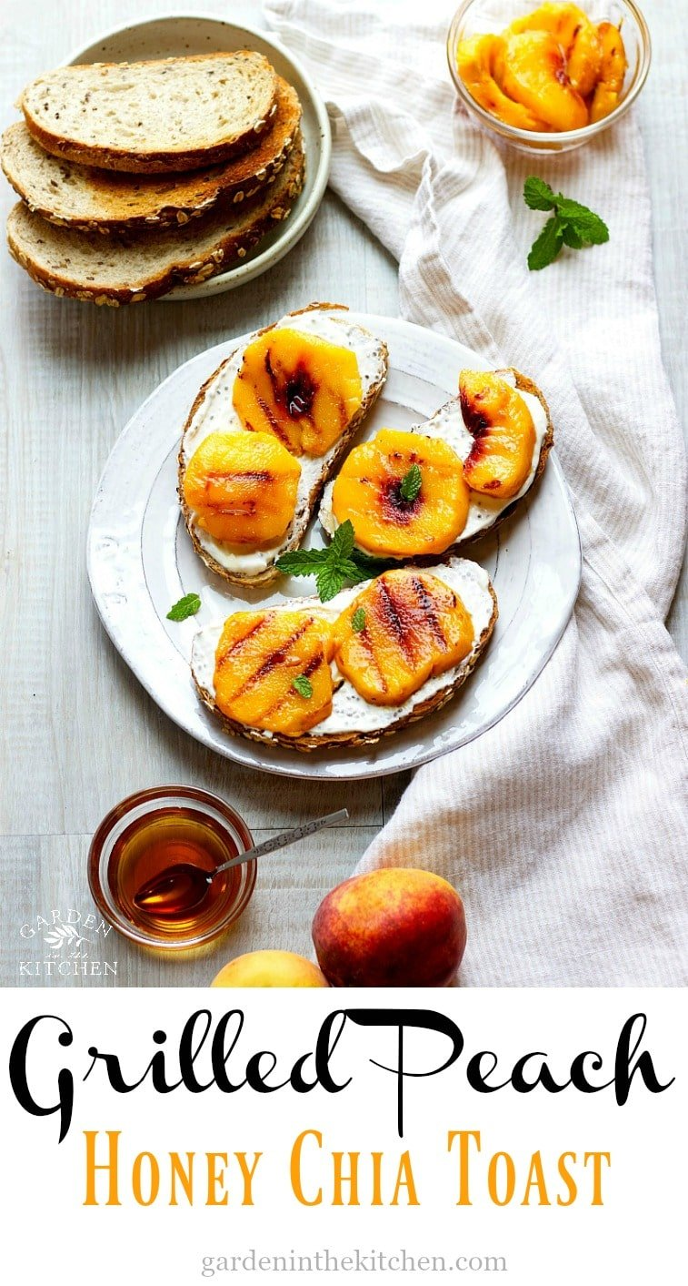 Grilled Peach Toast
