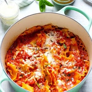 One Pot Stovetop Lasagna