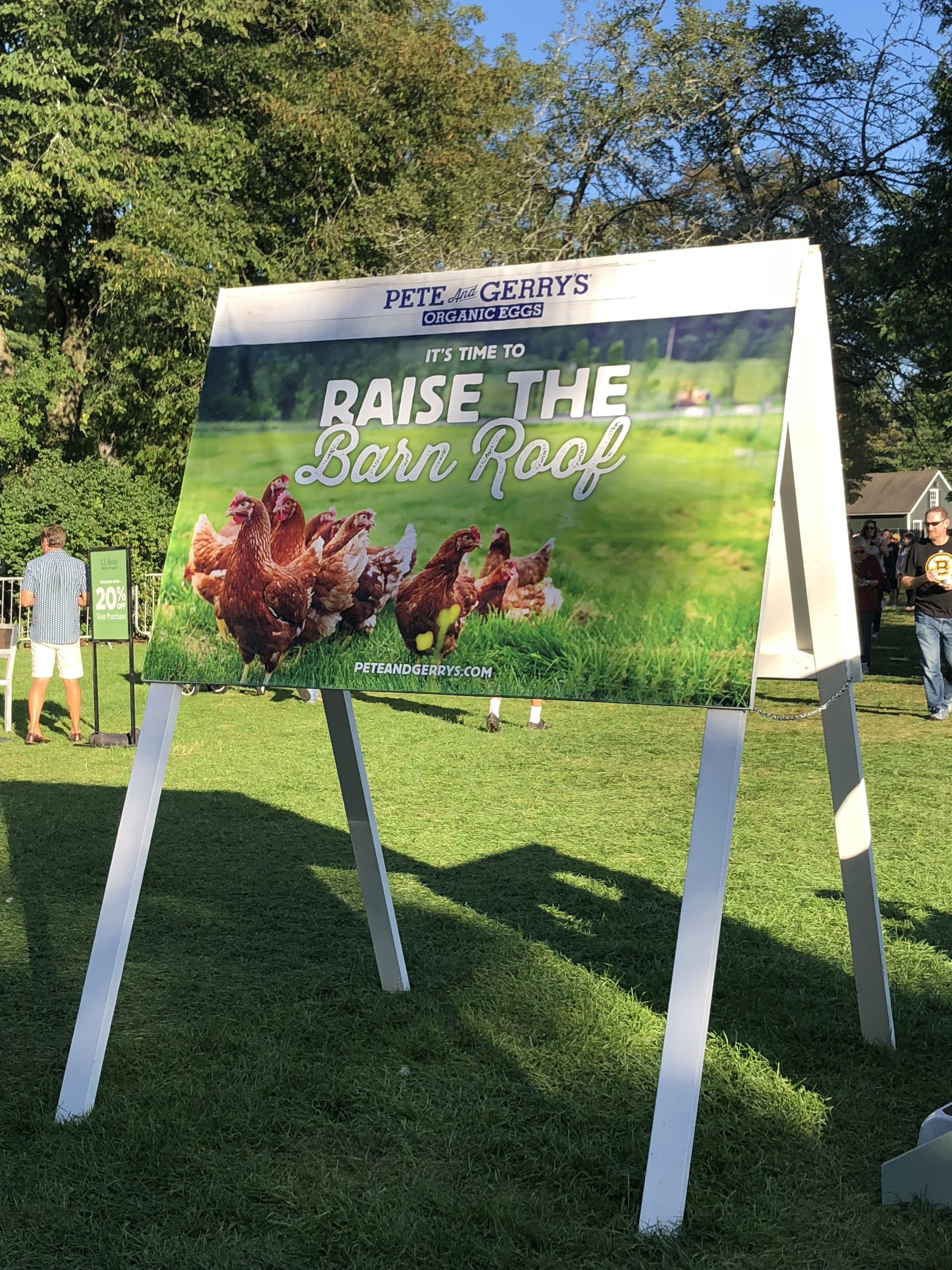 Festival at the Farm Presented by Pete and Gerry's Organic Eggs
