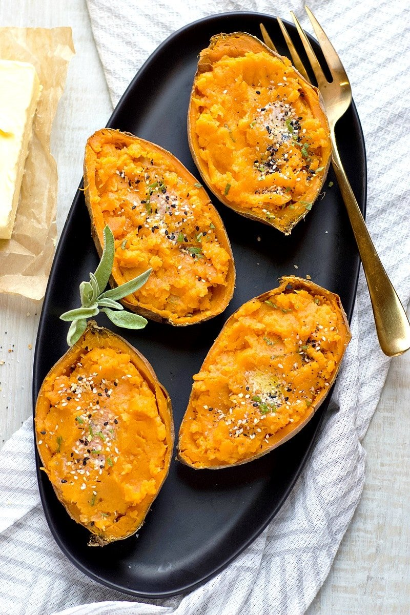 Brown Butter Sage Sweet Potato