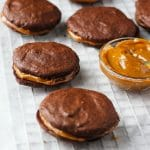 Dulce de Leche Chocolate Sandwich Cookies