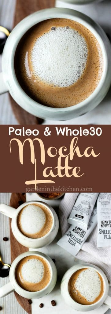 Paleo & Whole30 Mocha Latte (Dairy-Free)