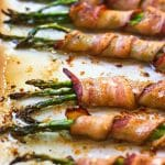Bacon Wrapped Asparagus (Paleo + Whole30)