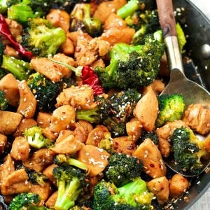 Healthy Chicken Broccoli Stir Fry (soy-free)
