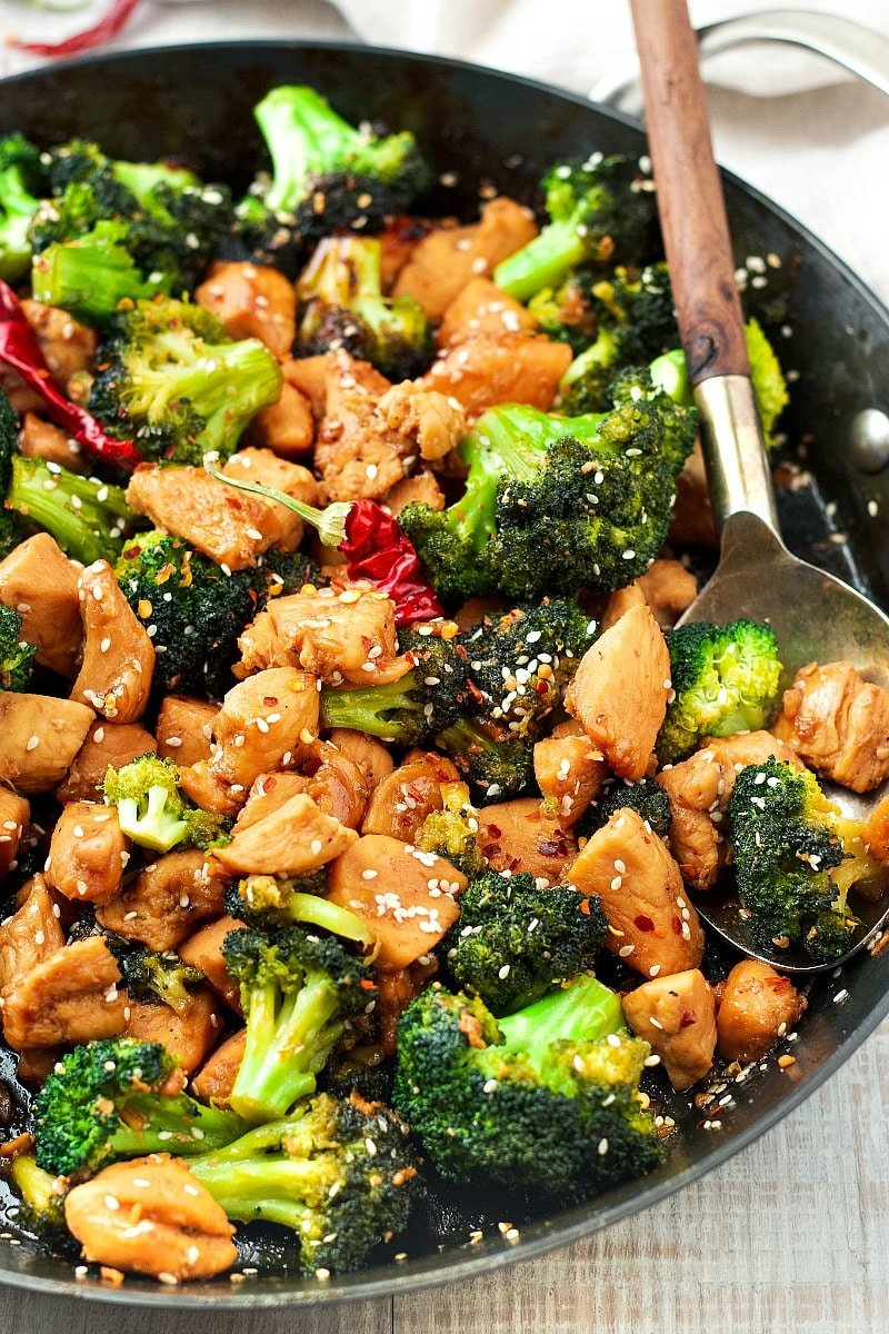 Chicken Broccoli Stir Fry Soy Free Garden In The Kitchen