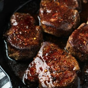 Filet Mignon Cast Iron