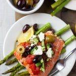 Mediterranean Salmon Baked