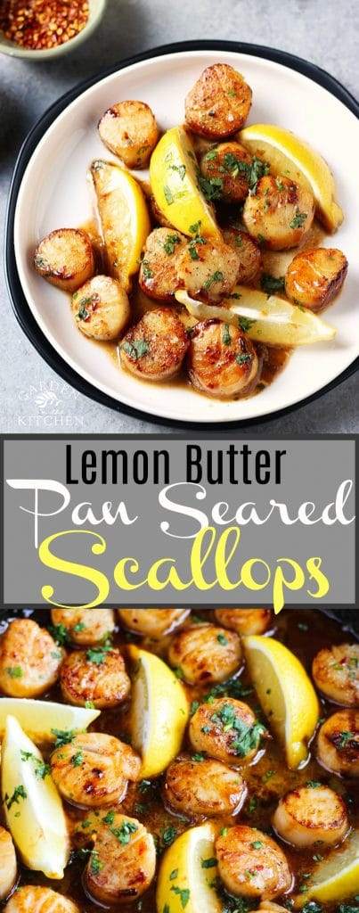 pan seared scallops