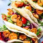 Spicy Shrimp Tacos (Grain-Free)