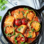 Easy 20-Minutes Salmon Stew